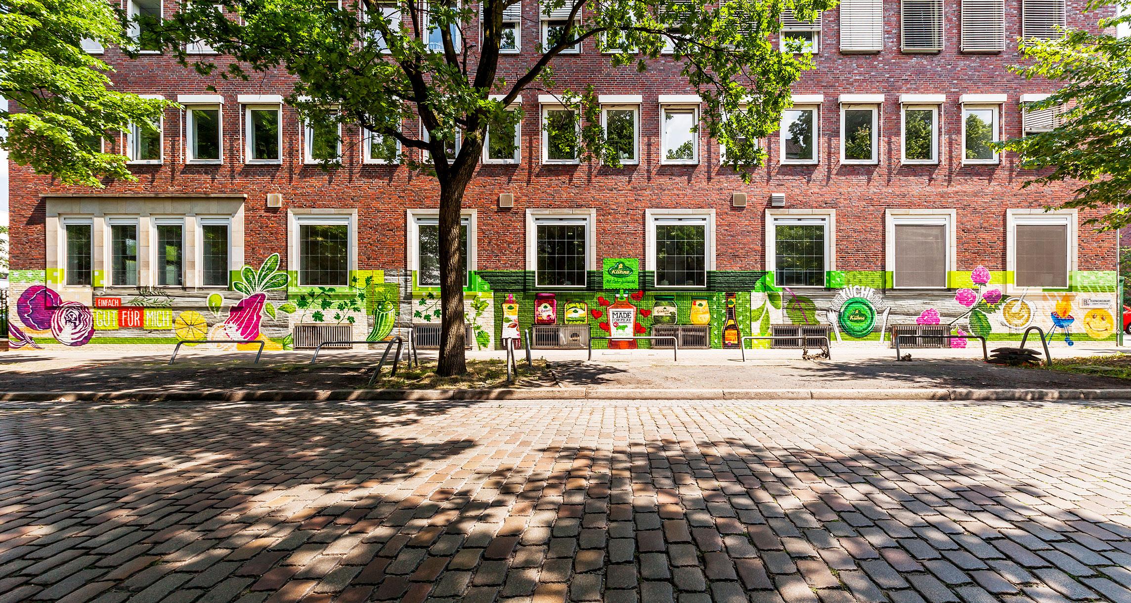 Street Art Branding für Carl Kühne KG