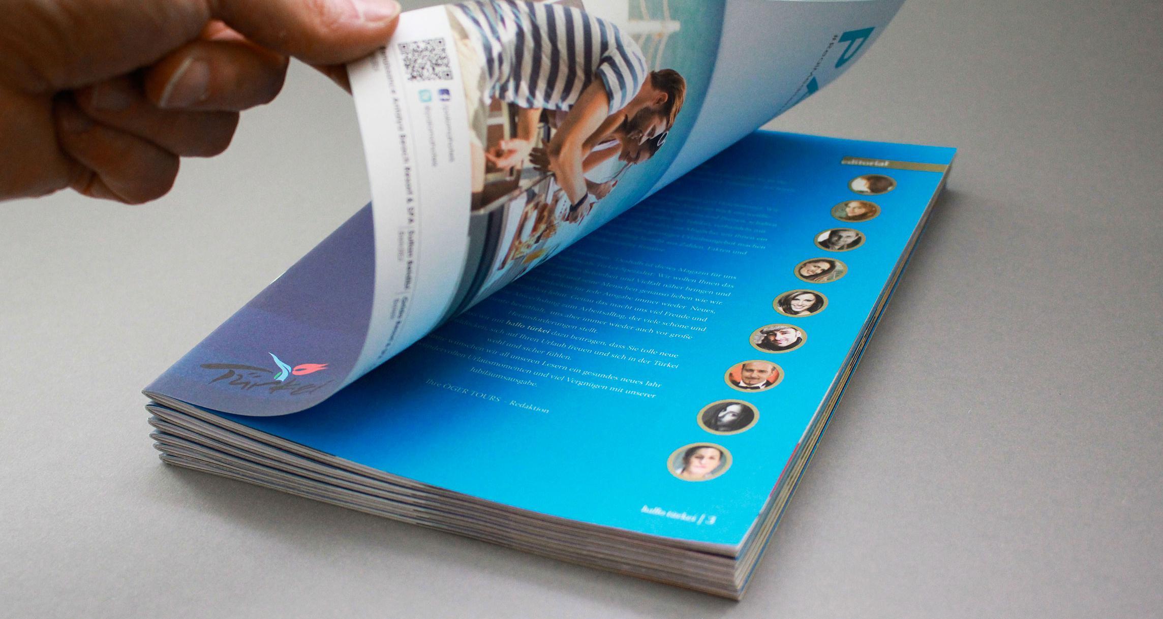 """Kundenmagazin """"hallo türkei"""""""