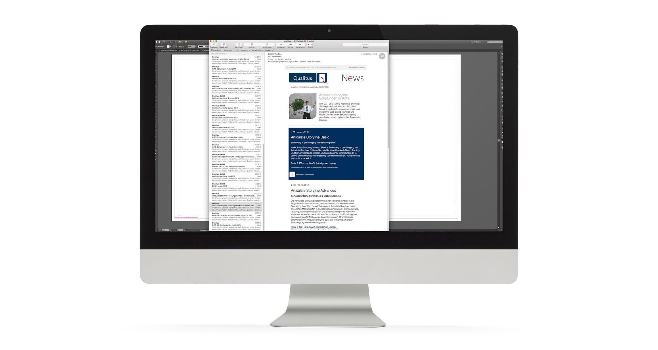 Newsletter Design Qualitus