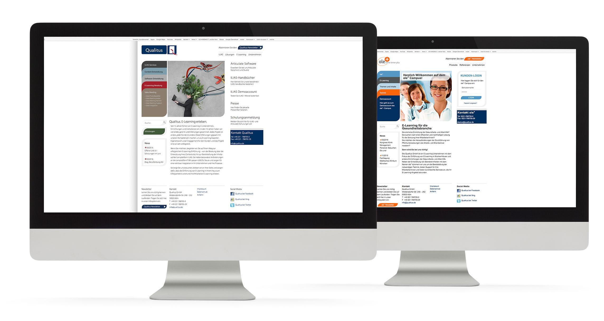 Webdesign Qualitus